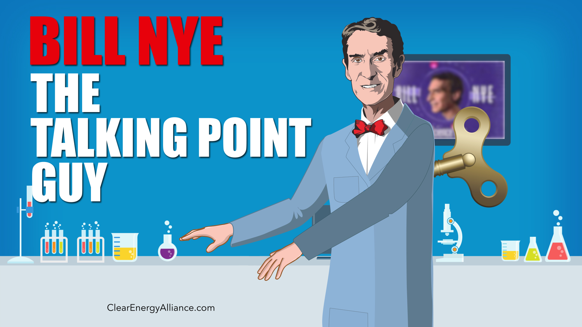 Bill Nye The Talking Point Guy