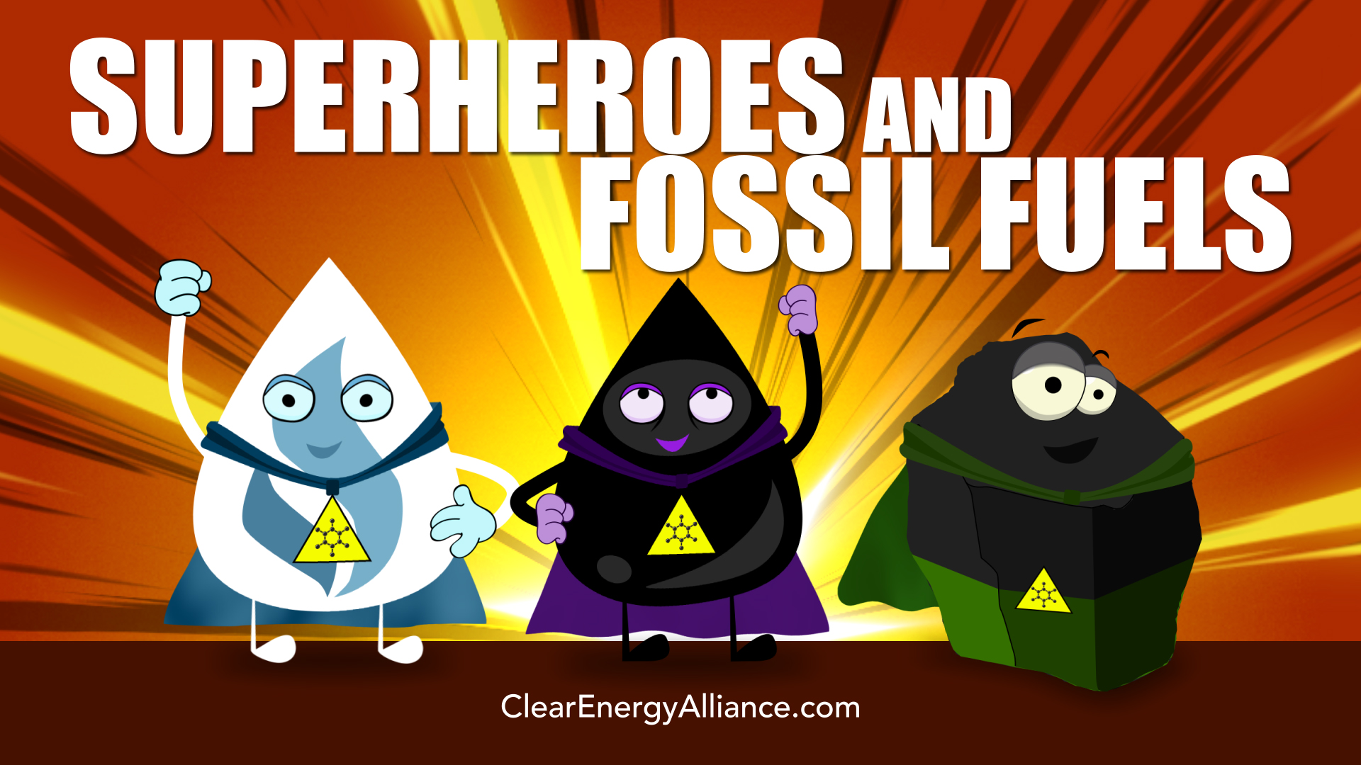 Superheroes & Fossil Fuels
