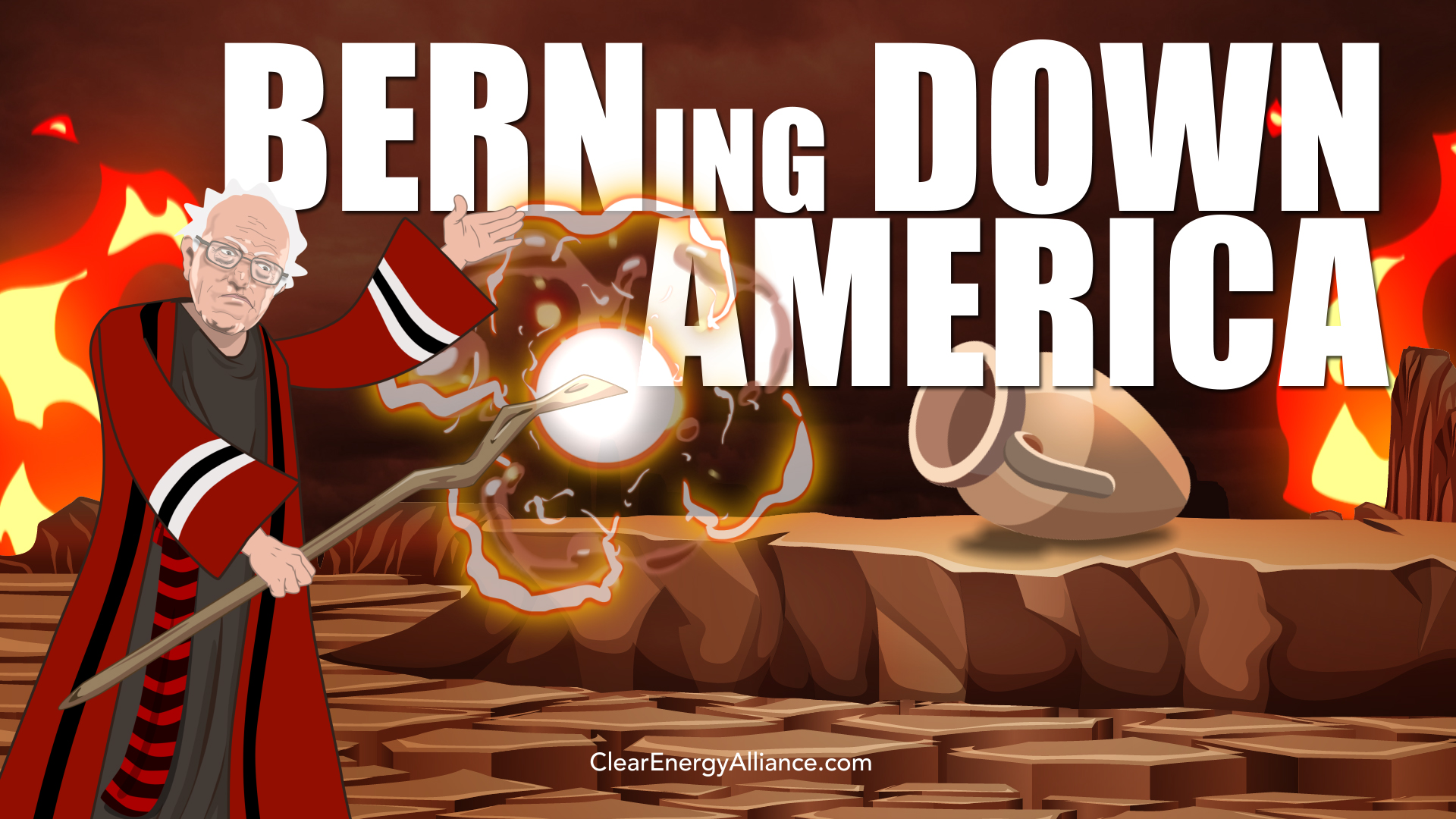 BERNing Down America