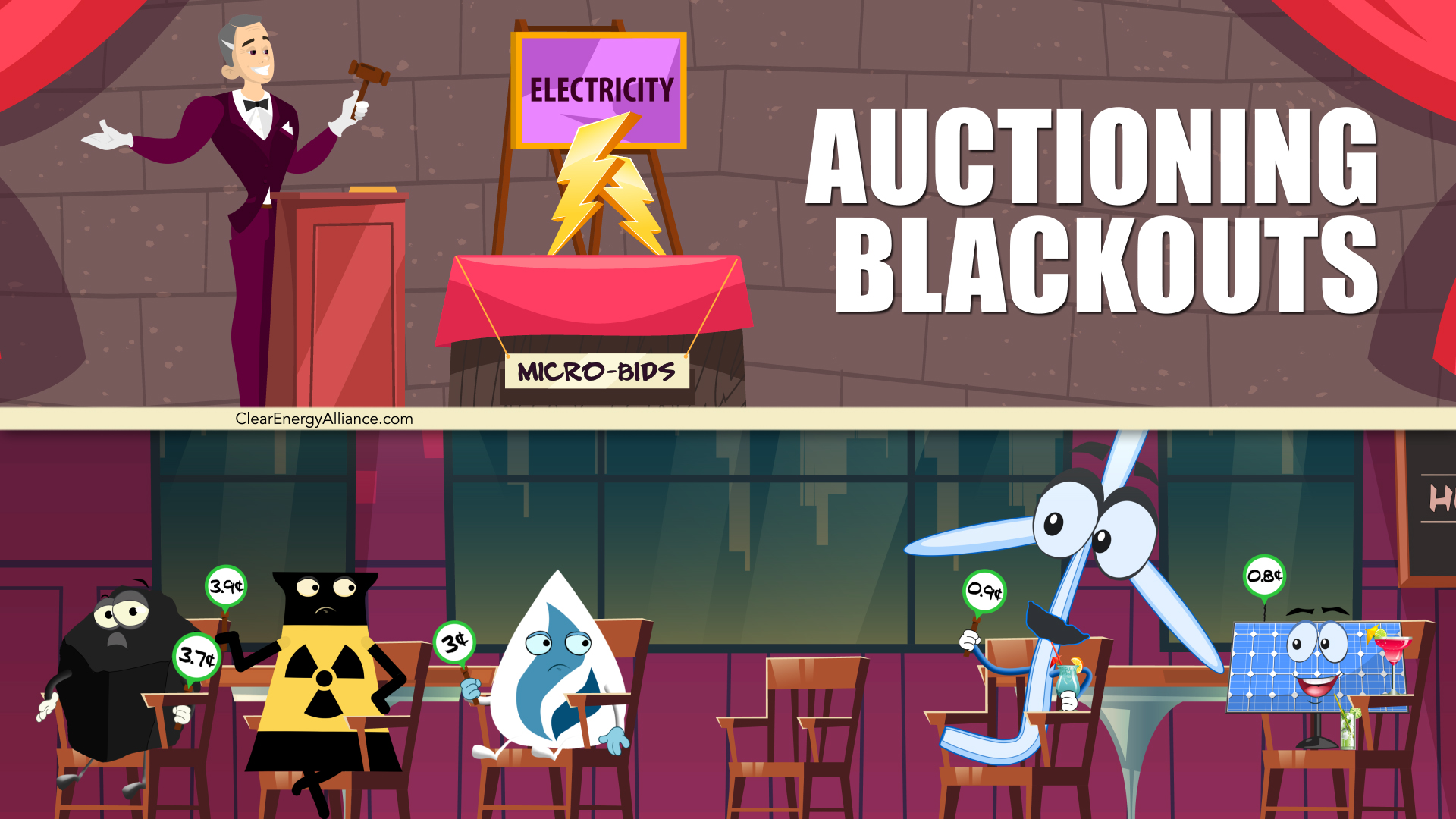 Auctioning Blackouts