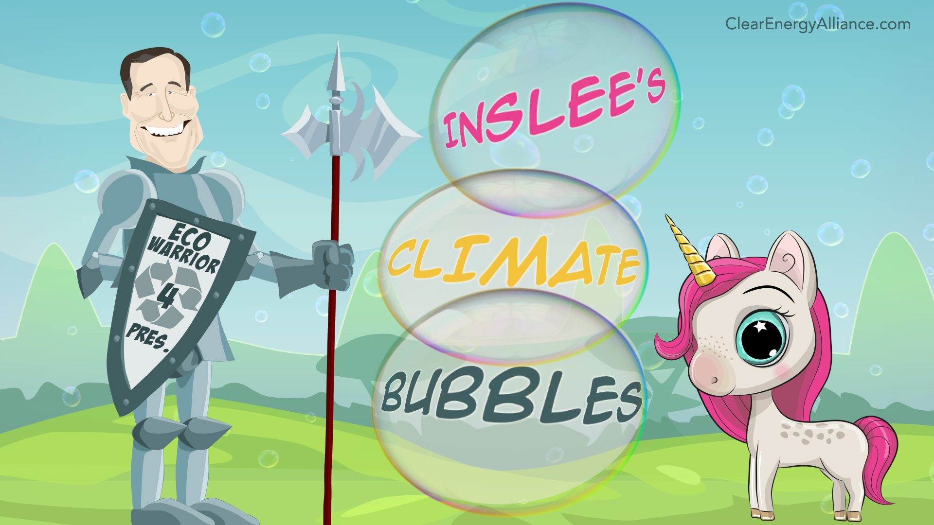 Inslee's Climate Bubbles