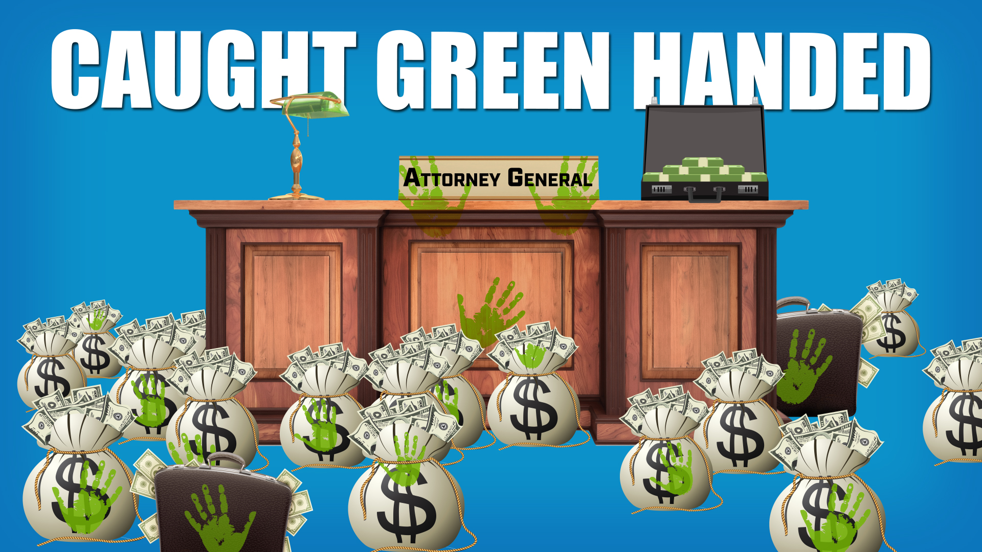 Caught Green Handed